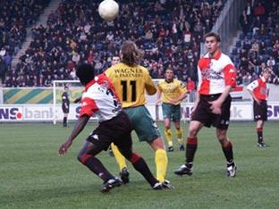 Opstelling tegen Feyenoord