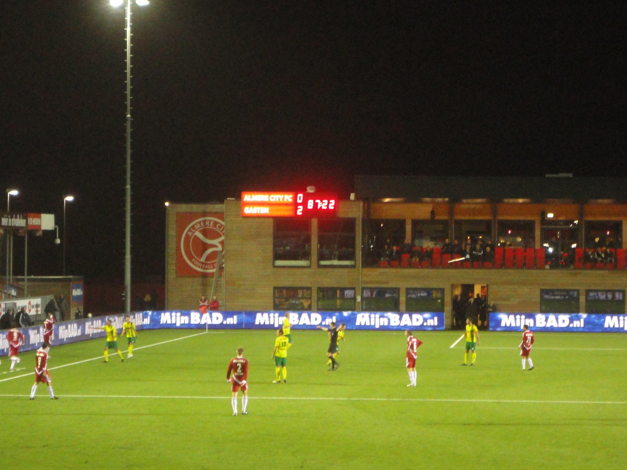 Almere City 0 Fortuna Sittard 2