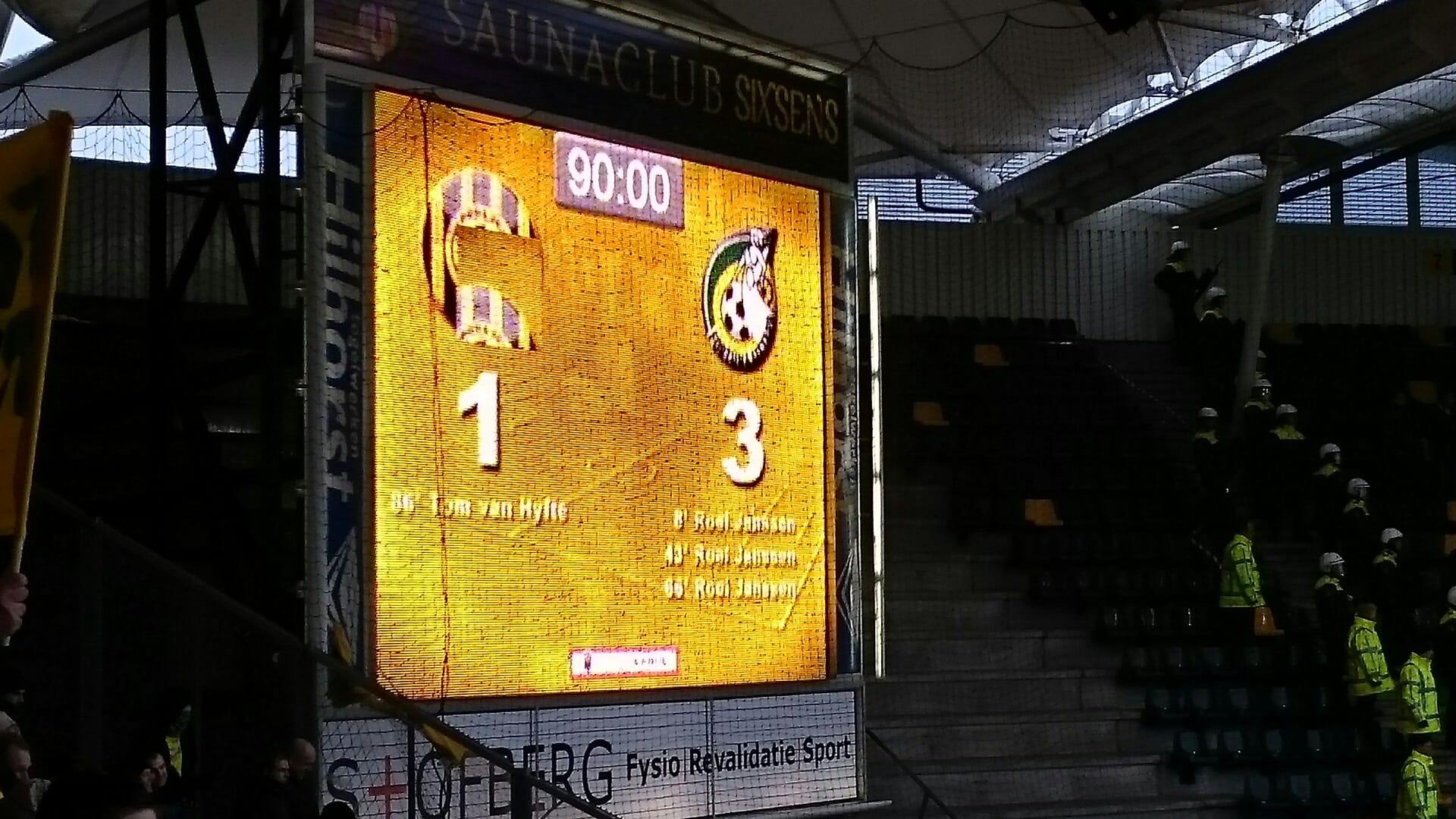 Roda JC 1 Fortuna Sittard 3