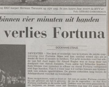 Acht nederlagen op rij: zo ging het in 1992