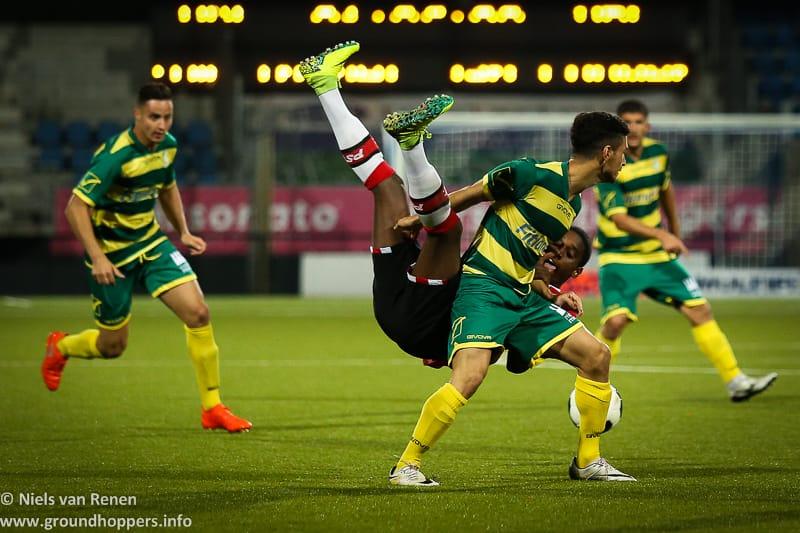 Opstelling tegen Jong PSV