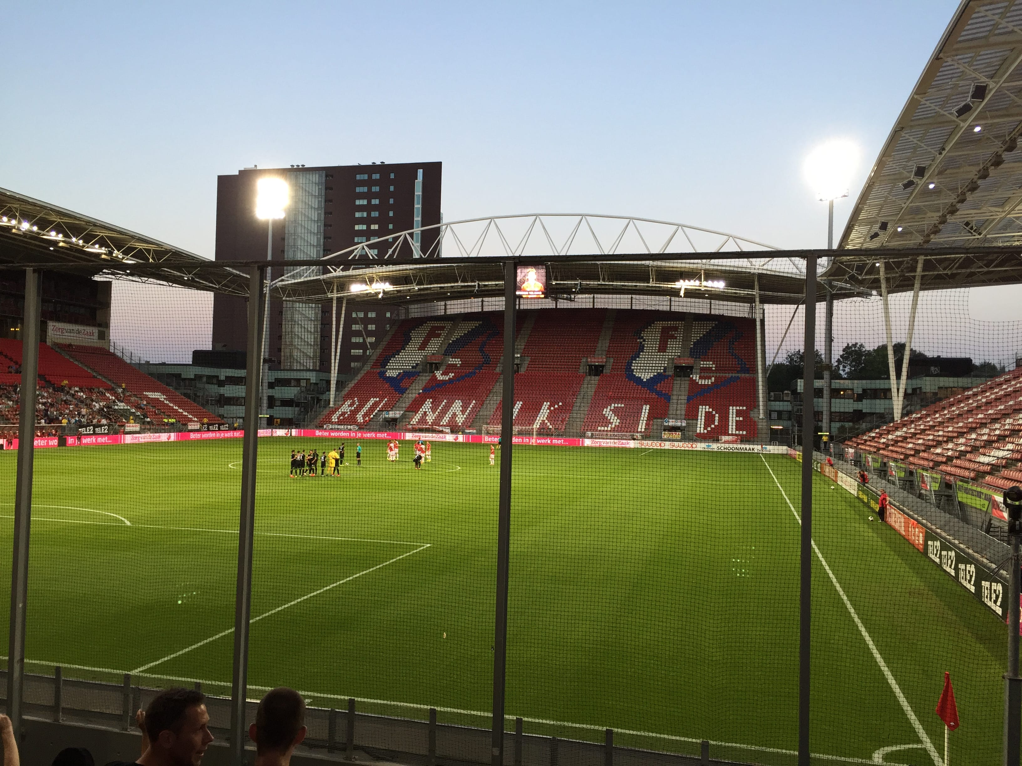 Veel Fortunezen mee naar Jong FC Utrecht