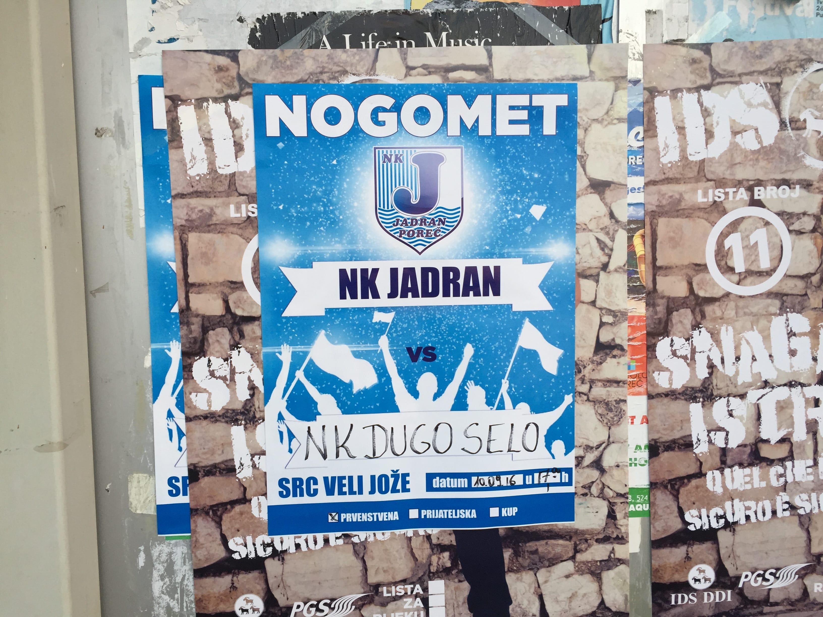 NK Jadran Porec 1 NK Dugo Selo 1