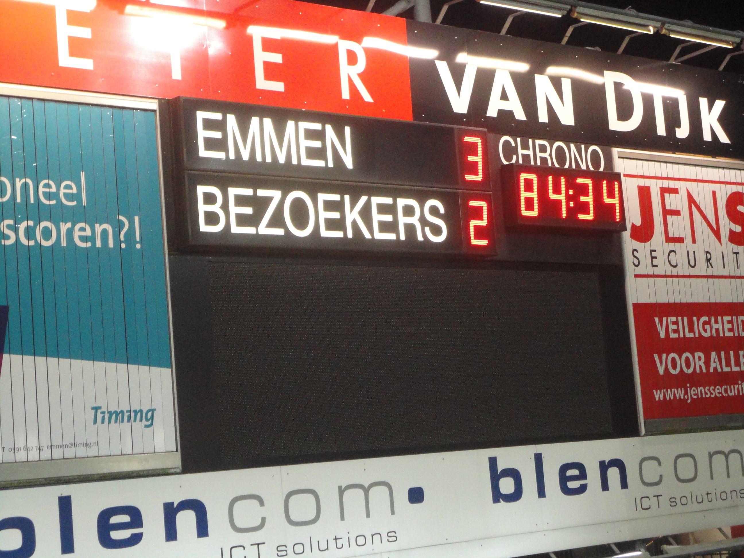 FC Emmen 3 Fortuna Sittard 2