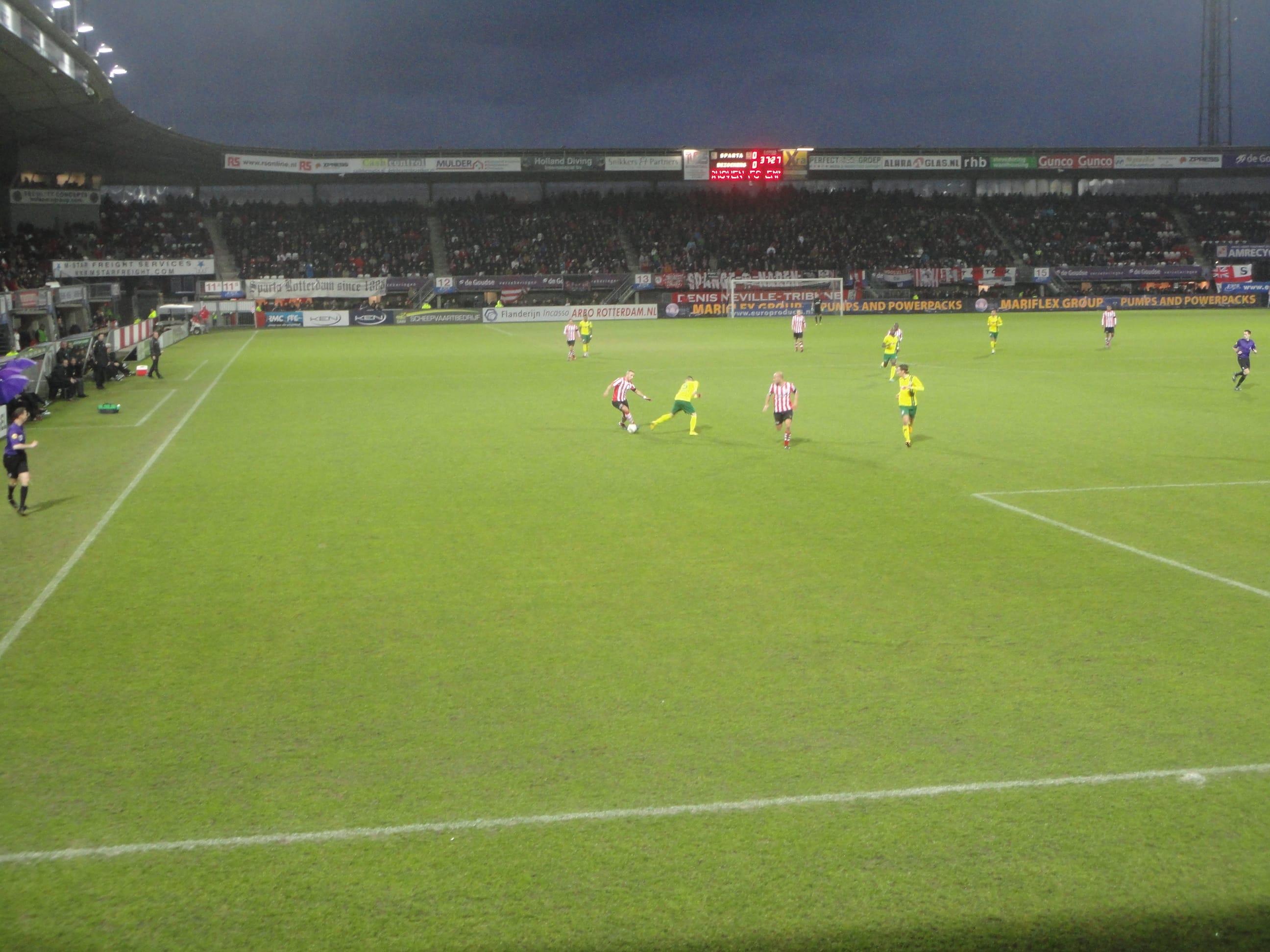 Sparta Rotterdam 0 Fortuna Sittard 0