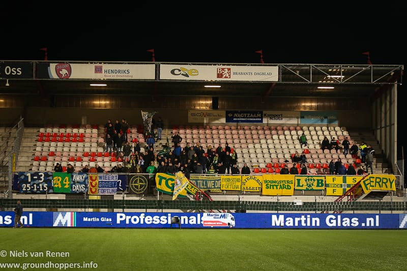 Opstelling tegen FC Oss