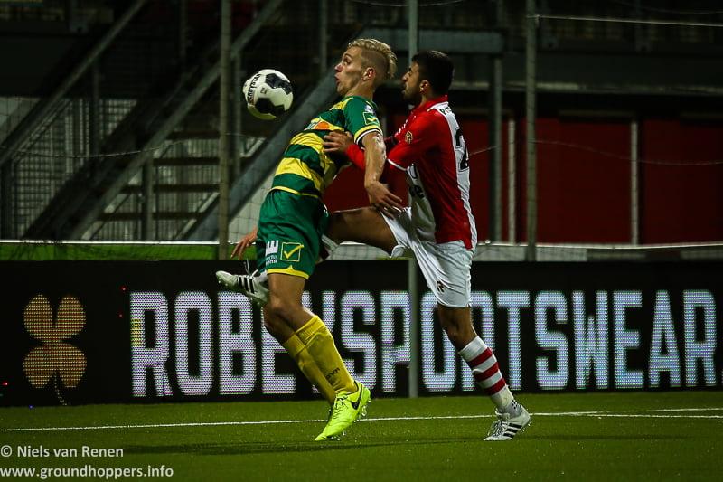 Opstelling tegen FC Emmen