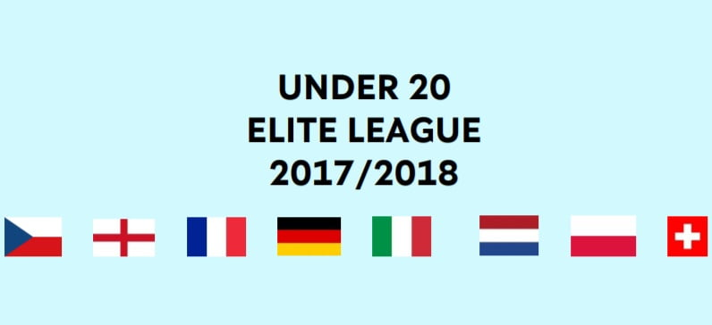 Under 20 Elite League (Eindstand)