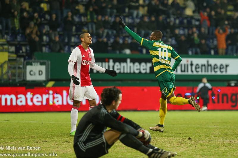 Opstelling tegen Jong Ajax