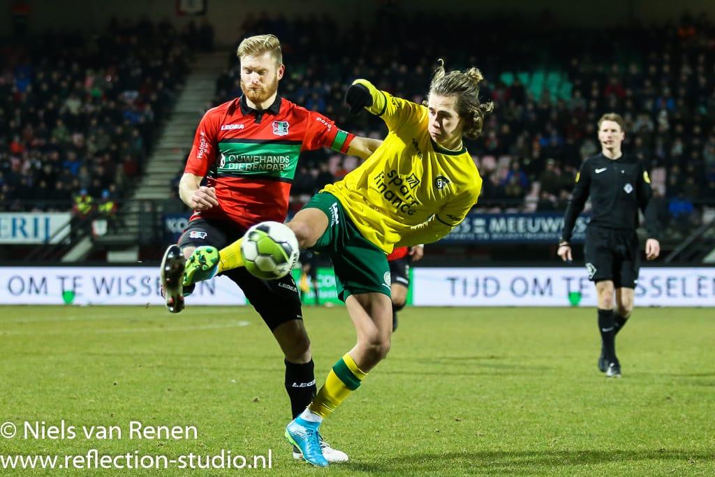 Opstelling tegen NEC Nijmegen