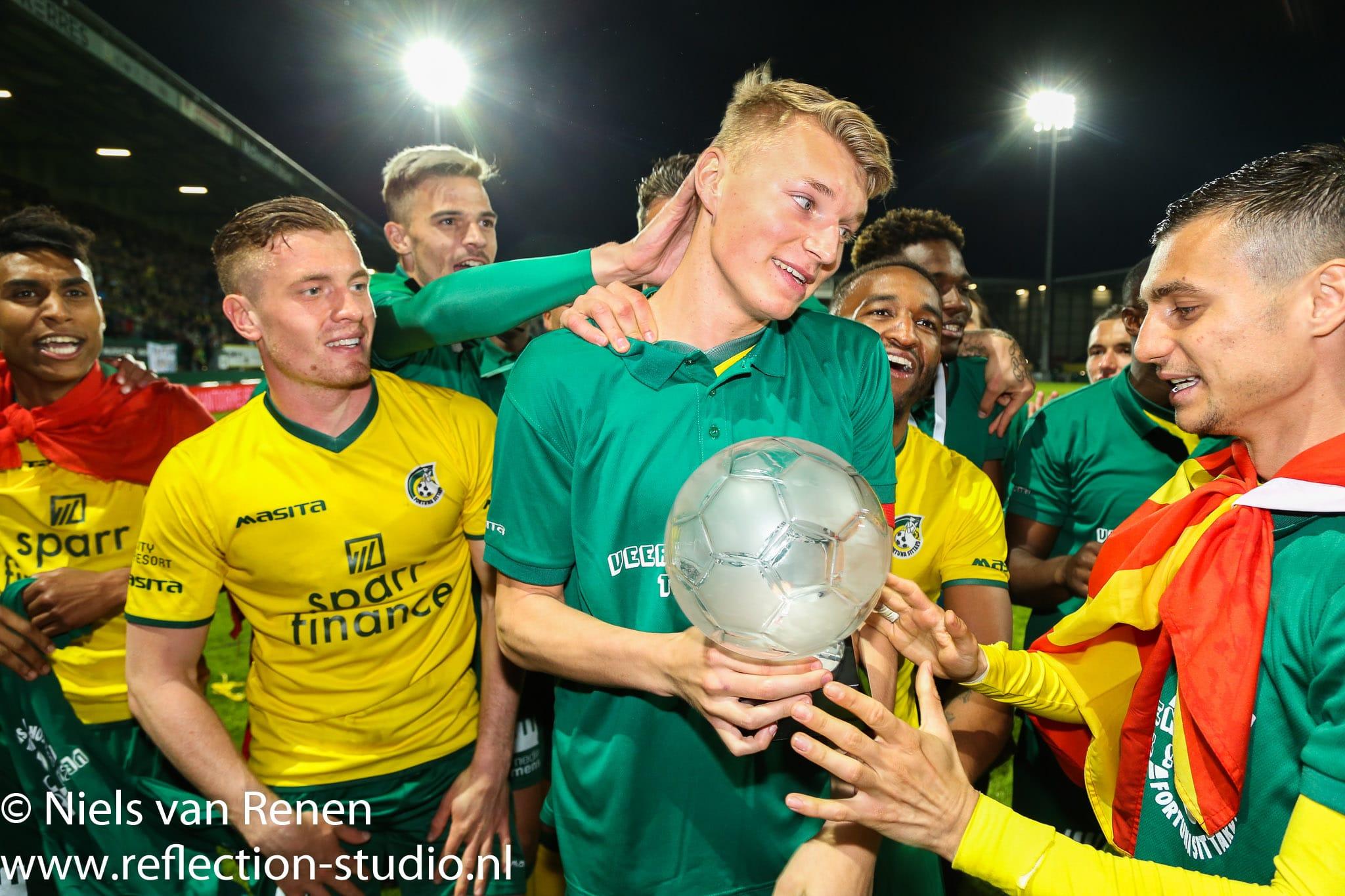 Foto's wedstrijdverslag Fortuna – Jong PSV