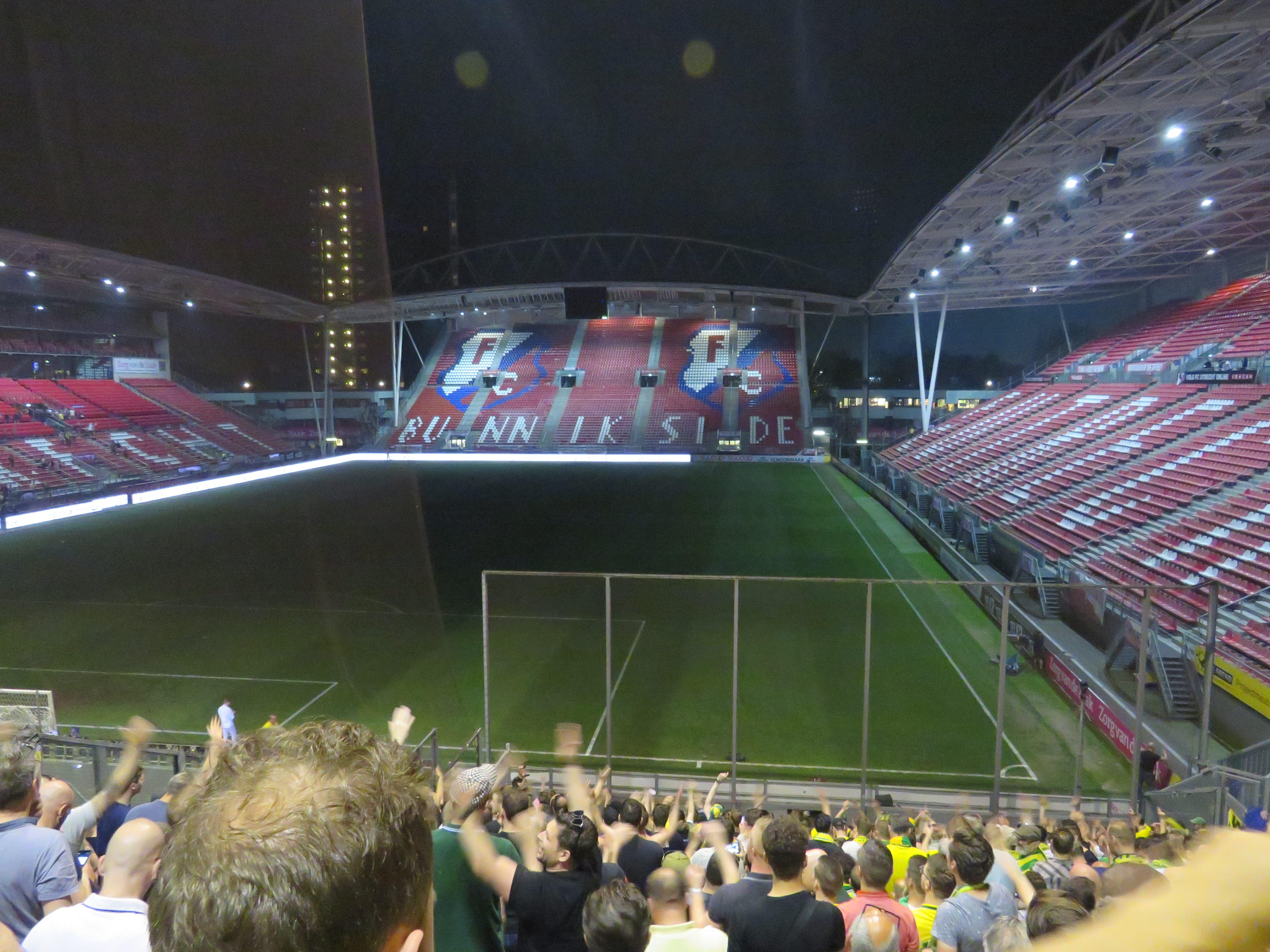 Fortuna voorbij Jong FC Utrecht