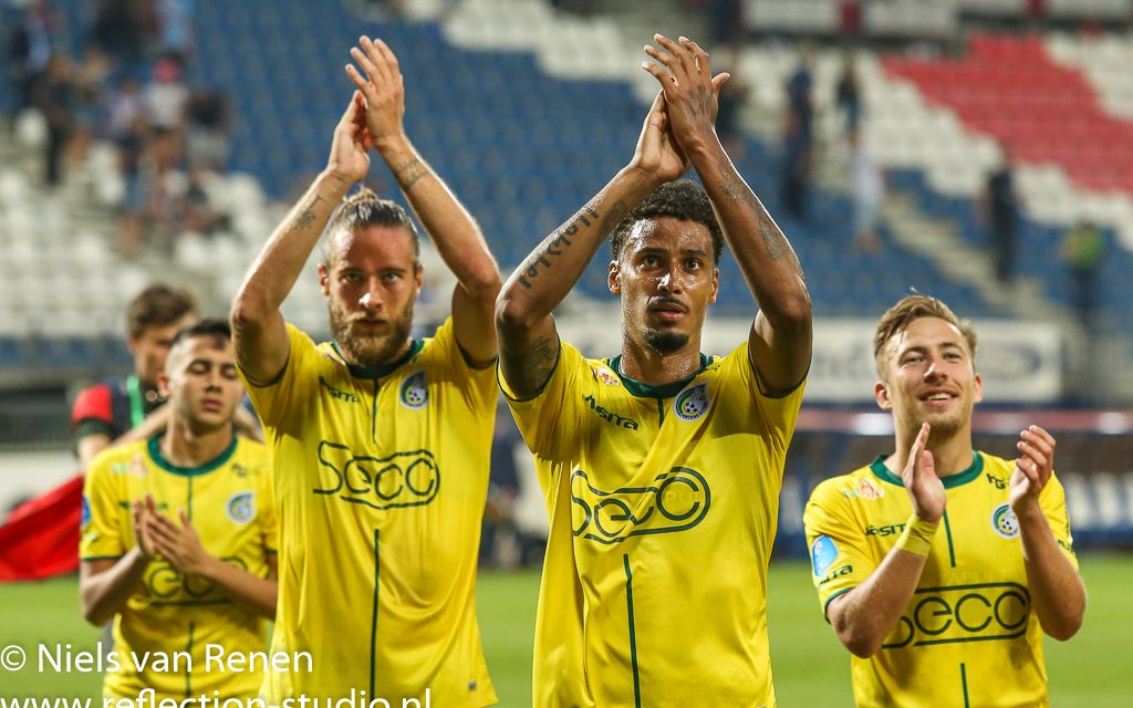 Opstelling tegen SC Heerenveen