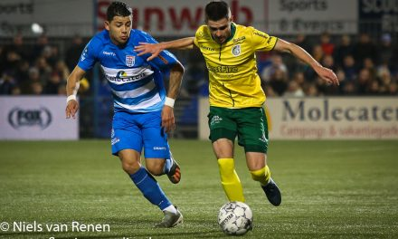 Opstelling tegen PEC Zwolle