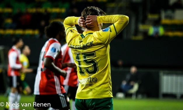 Fortuna Sittard 1 Feyenoord 2 (na verlenging)