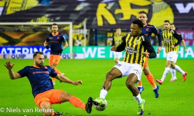 Opstelling tegen Vitesse