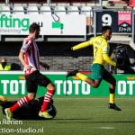 Opstelling tegen Sparta Rotterdam
